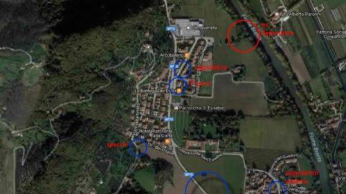 Mappa interventi
