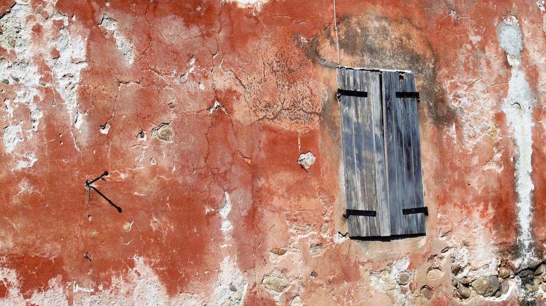 Finestra di casa colonica