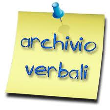 Archivio verbali